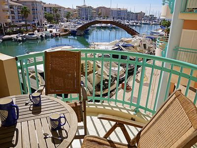 Photo for Frejus Apartment, Sleeps 4 with Air Con and WiFi