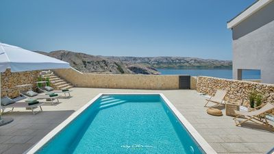 Photo for Charming villa near the gorgeous beaches on Pag