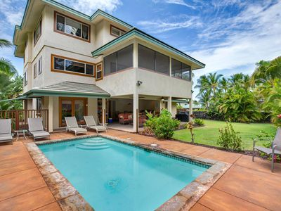 Photo for 100 feet to the Beach! | Private Home with Pool |  Starts at $595/Nt