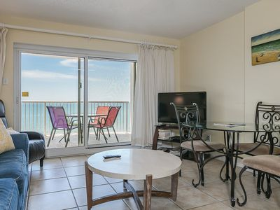 Photo for The Beach is Calling! 1 Bedroom 2 Bath Condo only footsteps from white sands.