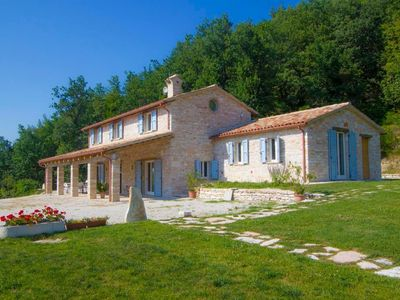 Photo for Holiday house Acqualagna for 8 - 10 persons with 4 bedrooms - Holiday house