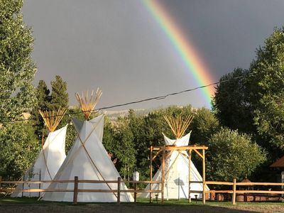 Photo for Sawtooth Tipi in Darby