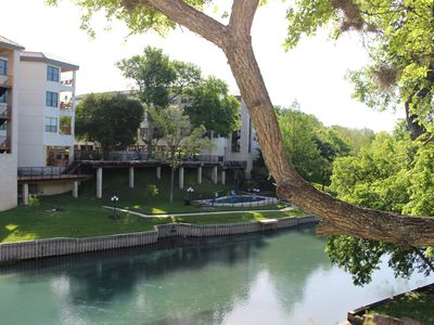 Photo for Condo open for Labor Day on the Comal River