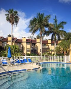 Photo for 3BR/4BA townhouse - POOL VIEW PARADISE - PRIVATE BEACH ACCESS a few steps away