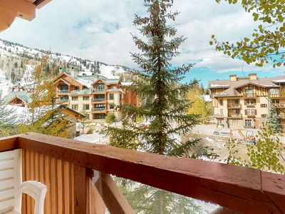 Photo for Ski-in/out condo w/mountain views, shared hot tub & pool & Club Solitude access!