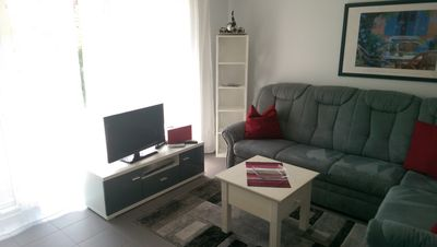 Photo for Mod. Apartment up to 4 pers./Incl. WLAN / car parking space / beach chair on the beach u. terrace