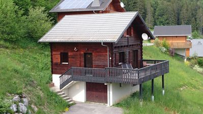 Photo for Beautiful Chalet, Winter/Summer retreat Many ski resorts a short drive good wifi