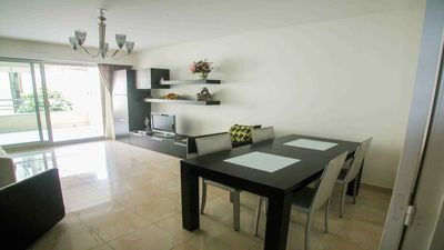 Photo for Two bedrooms apartment with dream and unique location in Nice