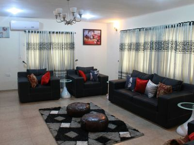 Photo for 3 bed/luxury/penthouse/24 hr power/pool/tennis court/free wifi