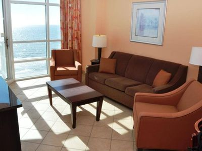 Photo for Beautiful 2 Bedroom Oceanfront Condo In The Cherry Grove Area
