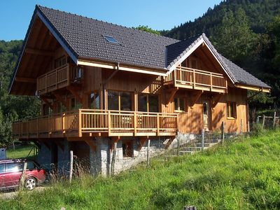 Photo for Large Chalet With Spectacular Views, Perfect For Both Winter And Summer Holidays