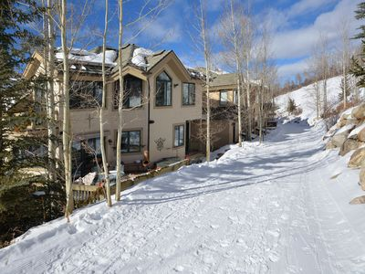 Photo for Picturesque Ski-In Ski-Out Luxury Beaver Creek Village Townhome, Private Hot Tub