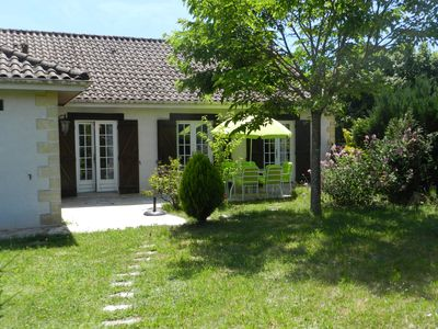 Photo for Nice house, ground floor, near the River Vézère, close to Eyzies and Bugue