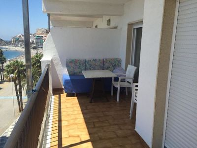 Photo for Apartment With 2 Bedrooms in Almuñécar, With Wonderful sea View and Fu