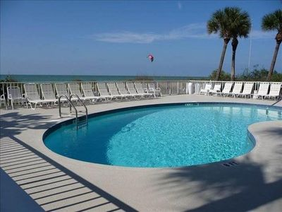 Photo for Gulf front: Peaceful, Oceanview Condo; Great Reasonable Rates All Year