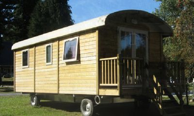 Photo for Camping Domaine du Lac Miel **** - Trailer 3 Rooms 4 People