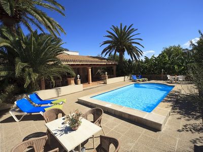 Photo for 2 bedroom Villa, sleeps 4 in Port de Pollença with Pool, Air Con and WiFi
