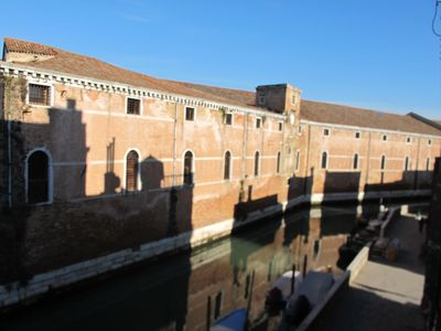 Photo for Apartment along the walls of the ancient Arsenale near the Venice Biennale