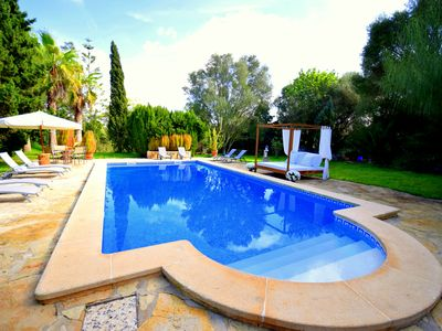 Photo for Historic country house with marvelous fully-fledged garden, large swimming pool
