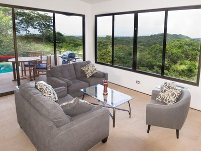 Photo for Gorgeous Playa Grande House - 4 BR / 3.5 BR - Lush Nature, Amazing Views/Sunsets