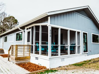 Photo for Newly renovated Carolina Beach Cottage - walking distance to beach
