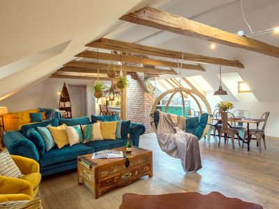 Photo for Romantic Boho-Chic Attic
