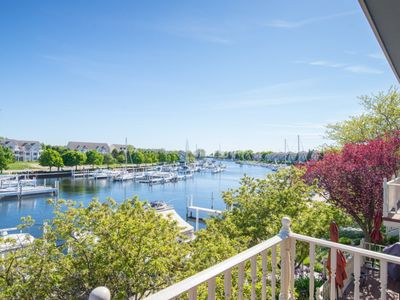 Photo for REMODELED Harbor Condo Steps to Lake MI