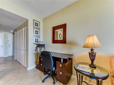 Desk Space - There's plenty of room for you to get some work done while your on vacation.