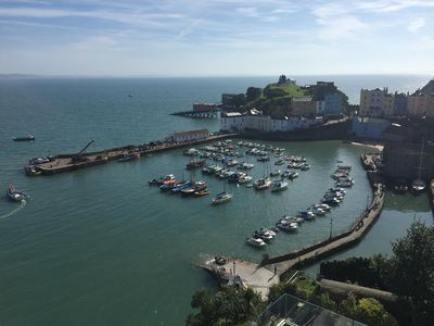 Photo for Apartment With Stunning Views Of Tenby Harbour And North Beach