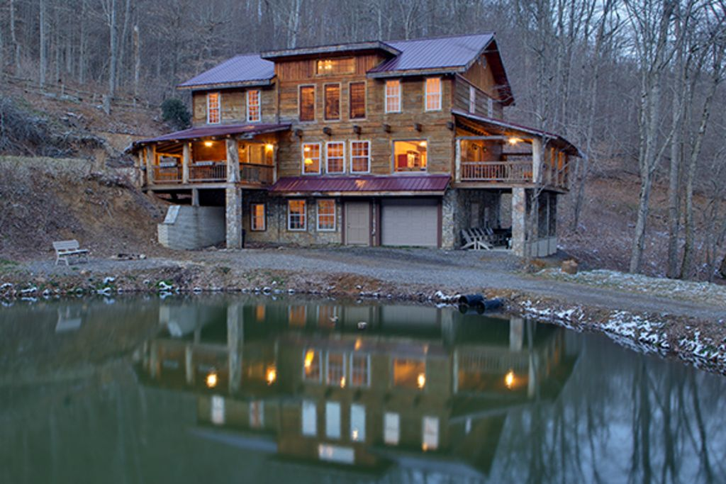 Image result for beautiful mountain lodge