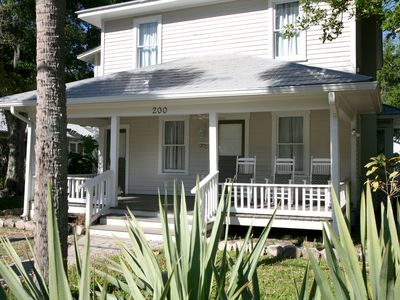 "Photo for ""Suite C"" Beautiful 1 bedroom 1 bathroom turn of the century home located in historic NSB!"