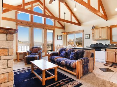 Photo for Comanche Peak 39 - 2 Br condo with 2 fireplaces, Marys Lake and mountain views!