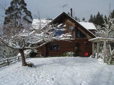 Photo for Authentic Canadian log house