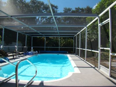Photo for Heated Private Pool Home 2 miles to Siesta Key, WiFi