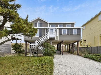 Photo for FREE ACTIVITIES!!!  Ocean front home is located in a private gated community just north of Fenwick Island, features 3 bedrooms, 2.5 baths