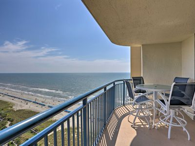 Photo for Myrtle Beach Condo w/Balcony-Steps to Ocean!