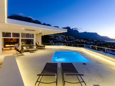 Photo for Trendy 50ies Villa, Camps Bay Beach in walking distance