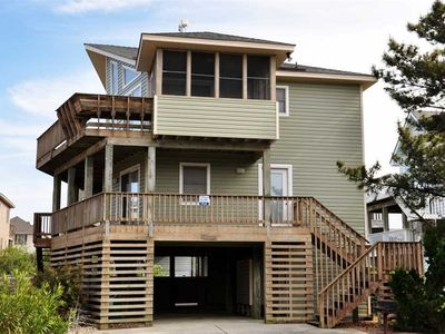 Photo for Spinnaker: Family friendly home with a pool and hot tub and only 5 lots from the ocean.