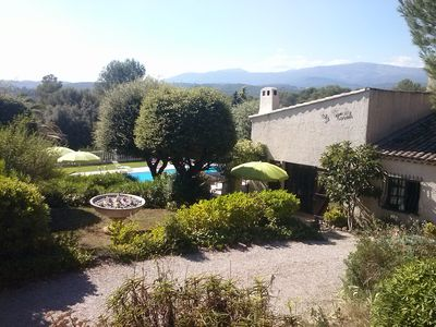 Photo for Detached villa, spa (6 places), pool, near Cannes (15km) and Antibes (12km)