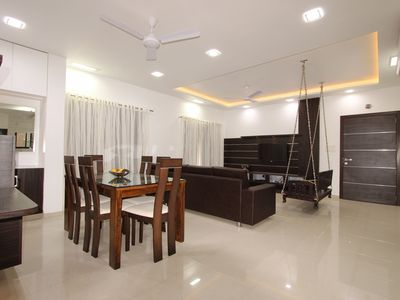 Photo for 3BR Apartment Vacation Rental in Rajkot, GJ
