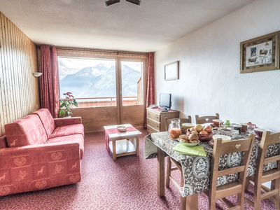 Photo for 4 person apartment with POOL foot of slopes in Savoy