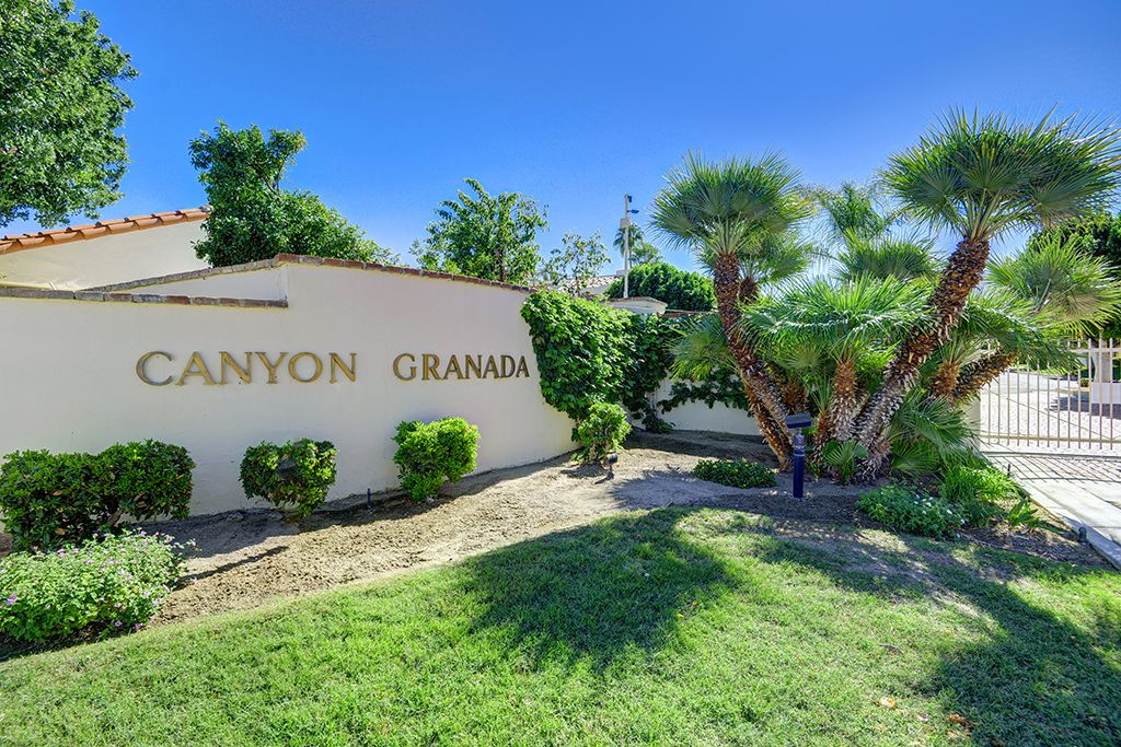 South Palm Springs 2 Bedroom Condo At Canyon Granada With Tennis Courts And Great Views Palm
