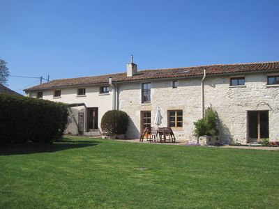 Photo for Beautifully Converted French Barn & Holiday Cottages with shared pool and garden