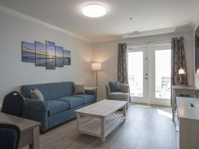 Photo for Beautiful Brand New 2 Bedroom Condo + Onsite Rental Privileges