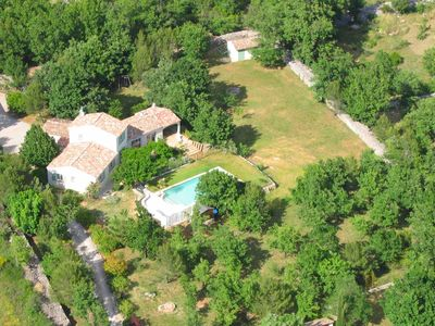 Photo for Quiet family home, large private pool and secure, huge lot