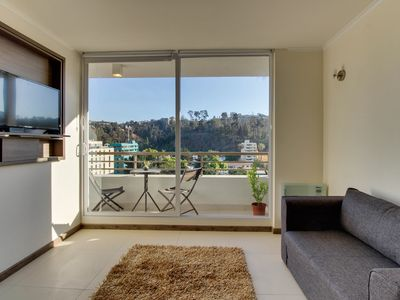 Lovely apt. with incredible views from balcony and great downtown location!