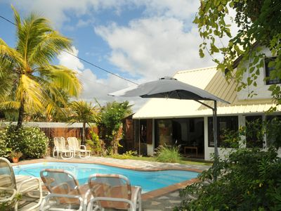 Photo for Elegant Villa with Direct Access to a Beautiful Sandy Beach and Blue Lagoon