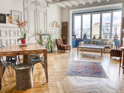 Photo for 200 m² with views of the Sacre Coeur and the rooftops of Paris