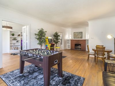 Photo for ♞4,000+ sf Historic Mansion♞ with full game room!