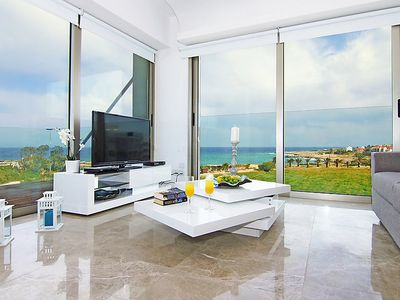 Photo for Protaras Apartment, Sleeps 4 with Pool, Air Con and WiFi